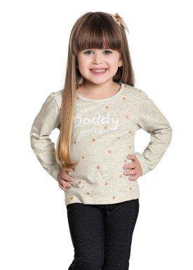 blusa manga longa infantil feminina cool daddy mescla fakini 1051 1