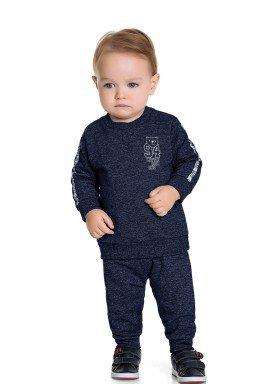 conjunto moletom bebe masculino cool one marinho fakini 1214 1