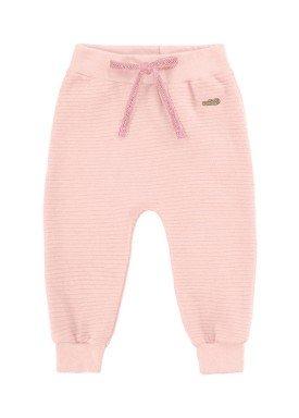 calca gorgurinho bebe feminina rosa marlan 20465