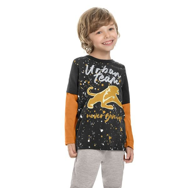 camiseta manga longa infantil masculina urban team preto marlan 24695 1
