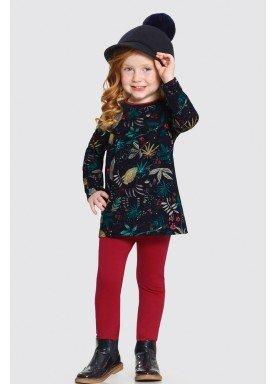 conjunto manga longa infantil feminino estampado marinho alakazoo 62617 1