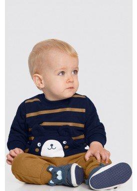 conjunto moletom bebe masculino marinho alakazoo 62548 1