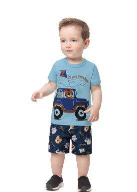 conjunto bebe infantil masculino pipa azul alenice 41195 1