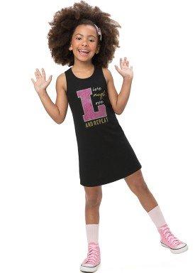 vestido infantil feminino repeat preto alenice 47209 1