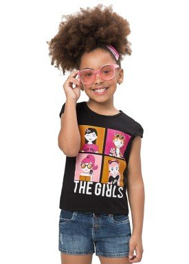 blusa infantil feminina the girls preto alenice 47179 1