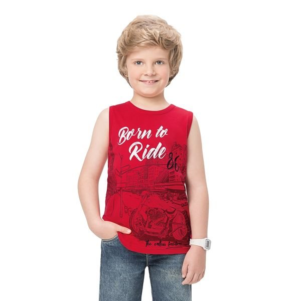 regata infantil masculina born to ride vermelho alenice 47135 1