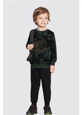 conjunto moletom infantil masculino camuflado verde alakazoo 62590 1