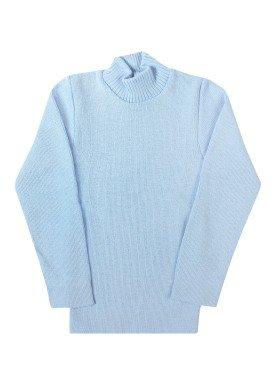 blusa la infantil unissex azul claro remyro 0102