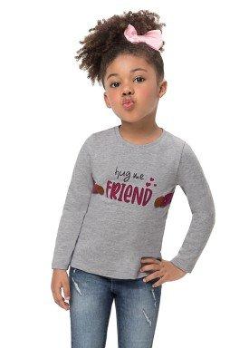 blusa manga longa infantil feminina friend mescla alenice 44514 1