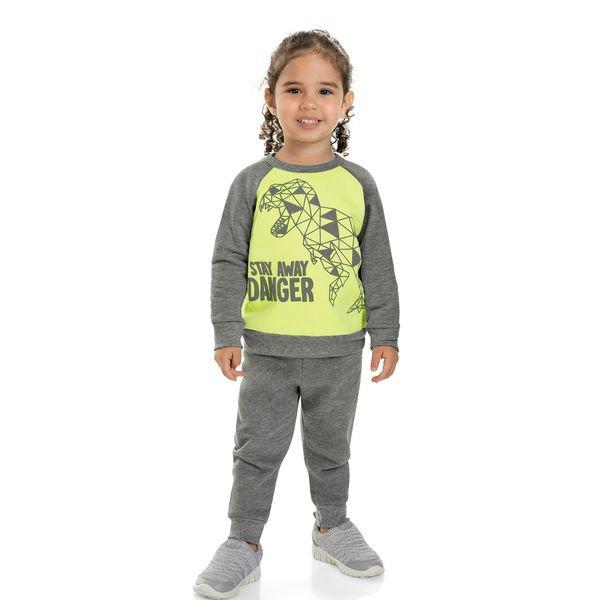 conjunto moletom infantil masculino danger verde marlan 22579 1