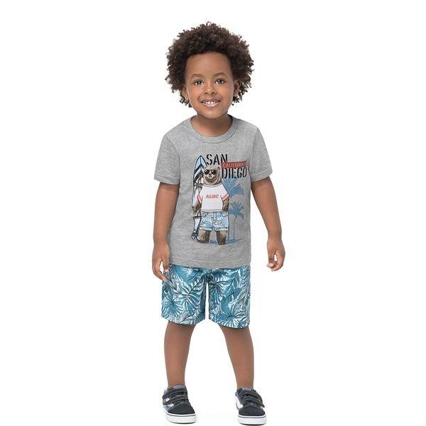conjunto infantil masculino urso mescla alenice 44477 1