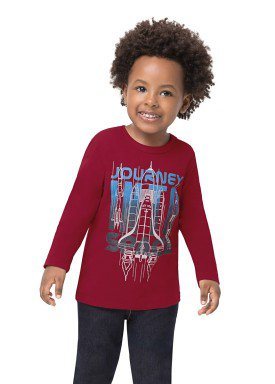 camiseta manga longa infantil masculina space bordo alenice 44467 1