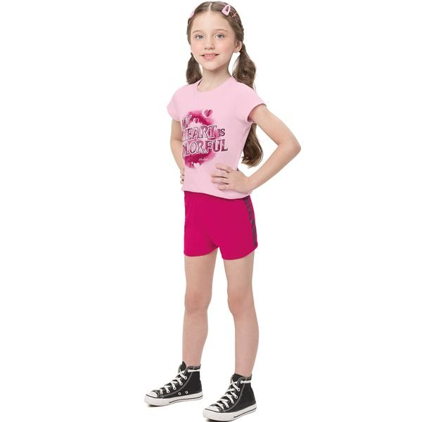conjunto infantil feminino colorful rosa alenice 47206 1