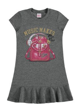 vestido infantil feminino music mescla alenice 47208