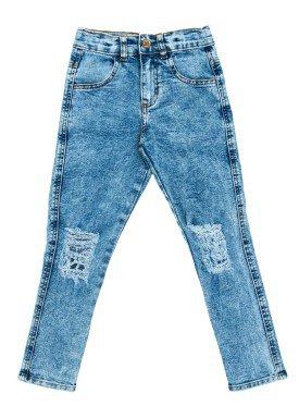 calca jeans infantil menino azul lbm j003 1