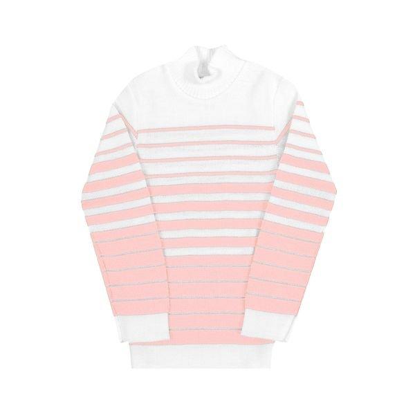 blusa la infantil feminina listras rosa claro remyro 0902 1