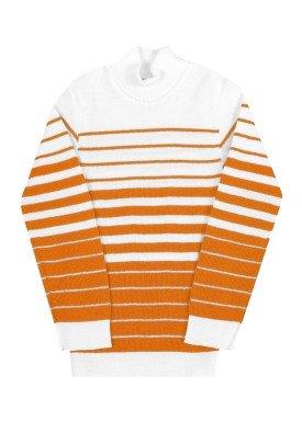 blusao la infantil masculino listras tangerina remyro 0902 1