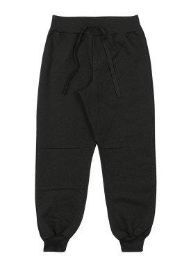 calca moletom infantil masculina preto marlan 54030