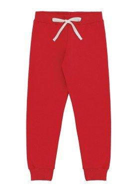 calca moletom infantil feminina vermelho marlan 54110 1