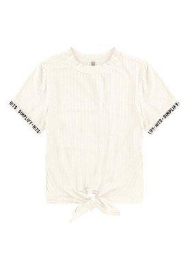 blusa malha canelada juvenil feminina simplify offwhite lunender hits 46764