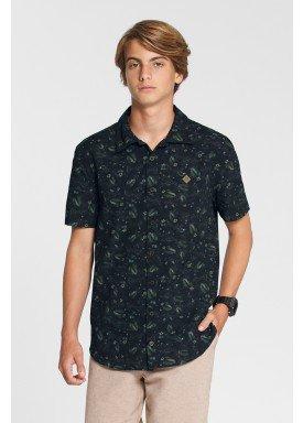 camisa meia malha estampada juvenil preto fico 48601 1