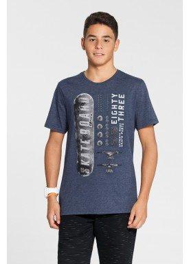 camiseta malha view flex juvenil masculina skate marinho fico 48595 1