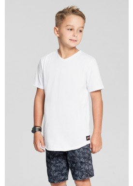 camiseta meia malha basica infantil masculina branco fico 48566 1