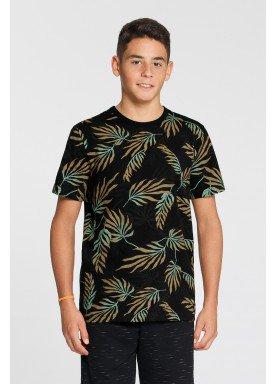 camiseta meia malha estampada juvenil masculina preto fico 48587 1