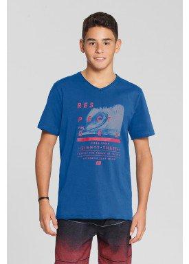 camiseta meia malha juvenil masculina respect azul fico 48593 1