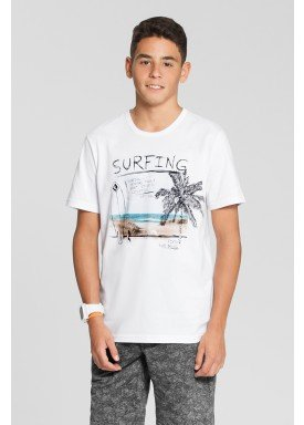 camiseta meia malha juvenil masculina surfing branco fico 48611 1
