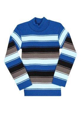 blusao la infantil masculino listrado azul remyro 0902 1