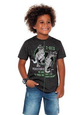 camiseta meia malha infantil masculina trex preto fakini 2269 1