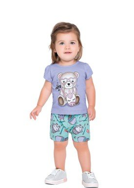 conjunto meia malha bebe feminino cute lilas fakini forfun 2153 1