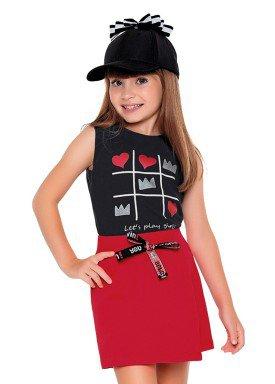 regata meia malha infantil feminina lets play preto fakini 2086 1