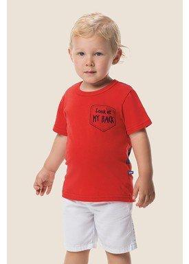 camiseta meia malha infantil masculina my back vermelho marlan 62521 1