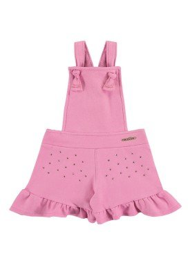 macaquinho molecotton jeans bebe feminino rosa marlan 60393 1