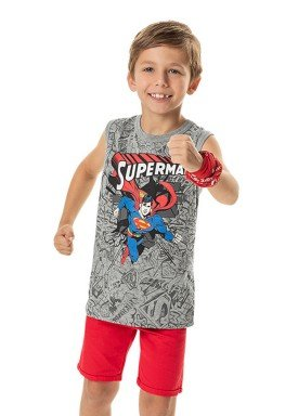 regata meia malha infantil masculina superman mescla marlan s4093 1