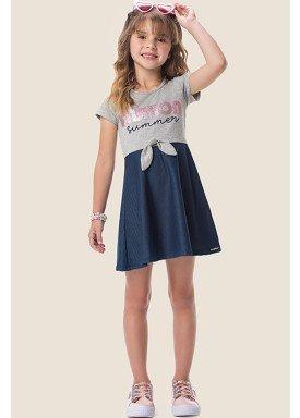 vestido cotton e molecotton infantil feminino fashion mescla marlan 64578 1