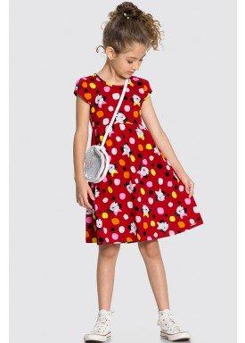 vestido meia malha infantil feminino dogs vermelho alakazoo 16066 1