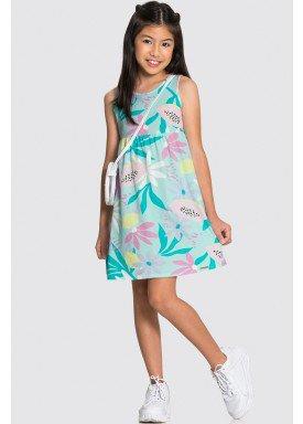 vestido meia malha infantil feminino tropical verde alakazoo 16032 1