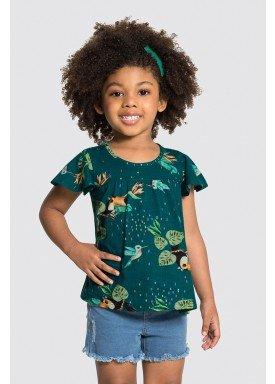 blusa meia malha infantil feminina passaros azul alakazoo 31780 1