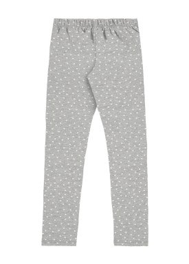 calca legging cotton infantil feminina bolinhas mescla alakazoo 31723