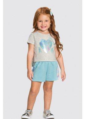 conjunto blusa e short infantil feminino bloom mescla alakazoo 31497 1