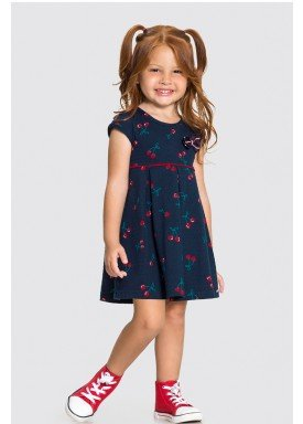 vestido malha nikko infantil feminino cherries marinho alakazoo 31790 1