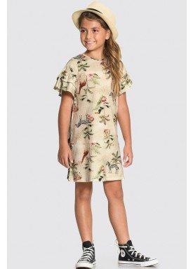 vestido meia malha infantil feminino nature bege alakazoo 31738 1