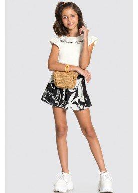 conjunto blusa e short saia infantil feminino nature offwhite alakazoo 34981 1