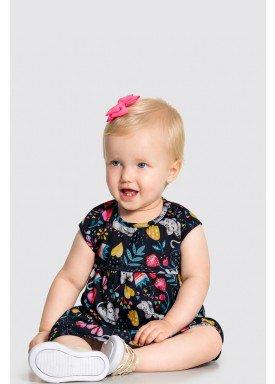 vestido com calcinha bebe feminino estampado marinho alakazoo 34963 1