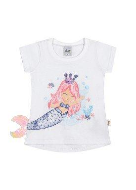 blusa meia malha infantil feminina sereia branco elian 231510 1