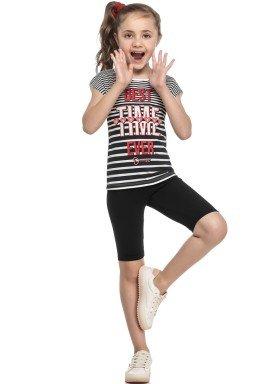conjunto blusa e ciclista infantil feminino best time natural elian 251393 1