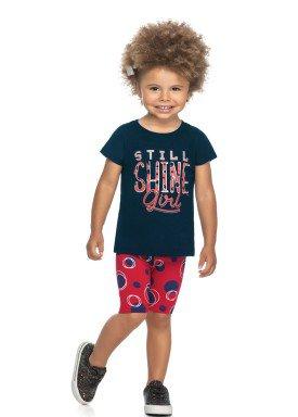 conjunto blusa e ciclista infantil feminino shine marinho elian 231503 1
